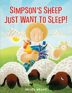 Simpson's Sheep Just Want to Sleep front cover